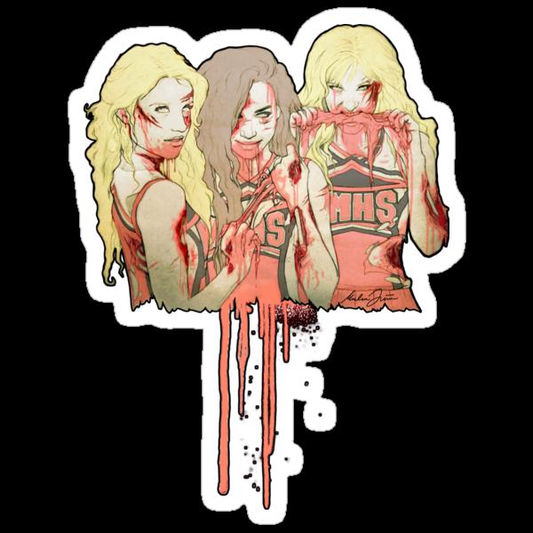 Zombie Unholy Trinity v.2 by marlene freimanis