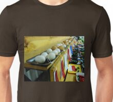 What Came First? The CHICKEN Or The Award Winning EGGS???  Unisex T-Shirt