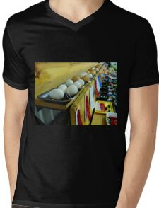 What Came First? The CHICKEN Or The Award Winning EGGS???  Mens V-Neck T-Shirt