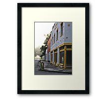 Abandoned Town Framed Print