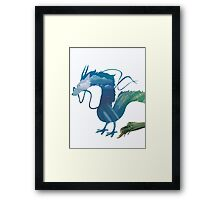 Haku Spirited Away Framed Print
