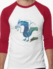 Haku Spirited Away Men's Baseball ¾ T-Shirt