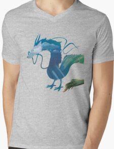 Haku Spirited Away Mens V-Neck T-Shirt