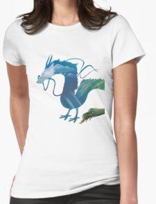 Haku Spirited Away Womens Fitted T-Shirt