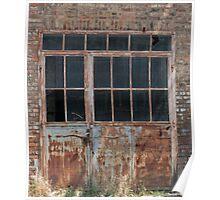 old factory door Poster