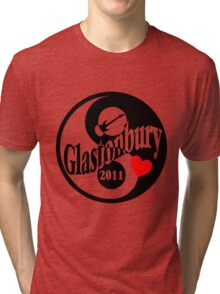 Glastonbury 2011 Tri-blend T-Shirt