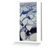 ice melt Greeting Card