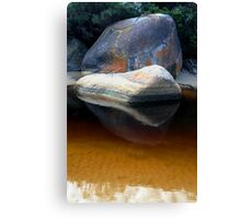 coloured rock Canvas Print