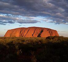 "Ayres Rock "" Uluru"" Central Australia by Steve Bass"