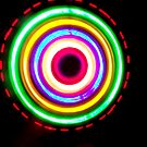Spinning Lights by waxyfrog