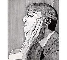 133 - AUBREY BEARDSLEY (INK) 1987 Photographic Print