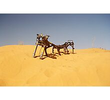 Simpson Desert Crossing Photographic Print