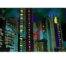 Chinese Nightmare- High rise Density  Photographic Print