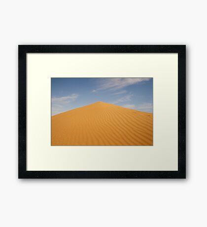Sand dune, Simpson Desert Framed Print