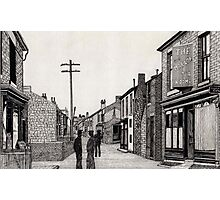 134 - RHOSLLANERCHRUGOG HIGH STREET, NORTH WALES (INK) 1987 Photographic Print
