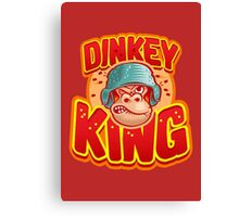 Dinkey King (Official) Canvas Print