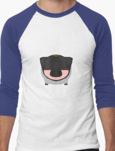 Batpig The Dark Bacon Men's Baseball ¾ T-Shirt
