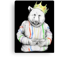 Bigi Bear Canvas Print