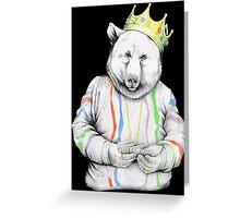 Bigi Bear Greeting Card