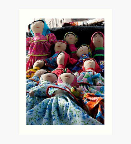 Tarahumara Dolls Art Print