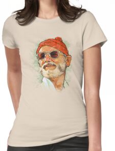 Steve Zissou Womens Fitted T-Shirt