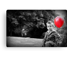 Boy and Balloon Canvas Print