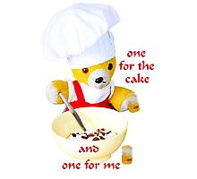 One for the cake Photographic Print