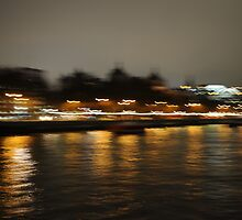 Reflection - London Thames by Dhruba Tamuli