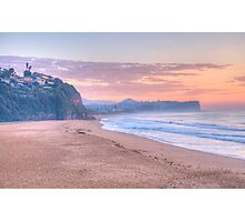 Pastels @ Dawn - Warriewood & Mona Vale Beaches,Sydney - The HDR Experience Photographic Print