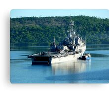 US Navy Vavau Tonga Canvas Print