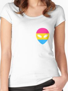 Pansexual Alien Women's Fitted Scoop T-Shirt