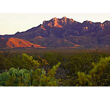 Chisos Mountains, Texas Photographic Print