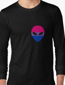 Bisexual Alien Long Sleeve T-Shirt