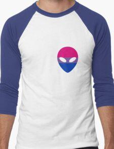 Bisexual Alien Men's Baseball ¾ T-Shirt