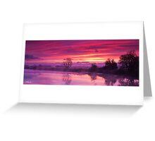 eyebridge sunrise Greeting Card