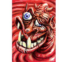 Squashy Undershot Devil Photographic Print