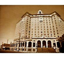 The Baker Hotel Photographic Print