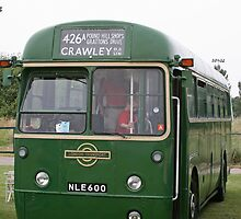 London Transport green country bus by Keith Larby