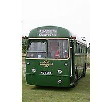 London Transport green country bus Photographic Print