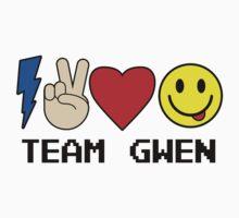 TEAM GWEN shirt New Season 9 fall emoji emoticon Kids Clothes
