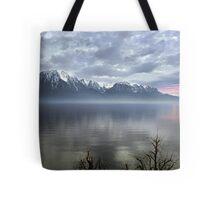 Mountain Lake at Dusk Tote Bag