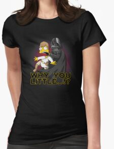 Why you little Womens Fitted T-Shirt