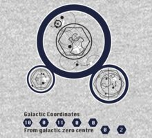 Galactic Coordinates from Galactic Zero Centre by Gavin Foster
