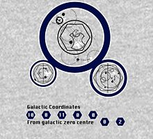 Galactic Coordinates from Galactic Zero Centre Unisex T-Shirt