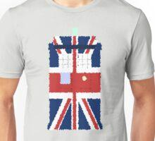 Fuzzy Policebox Unisex T-Shirt