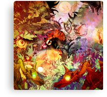 The forests of Suspended Animation Canvas Print