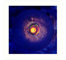 Light maze Art Print