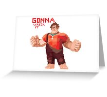 Gonna Wreck it Greeting Card