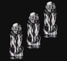 Giger's Birth Machine Baby Trio by Justin Overholt