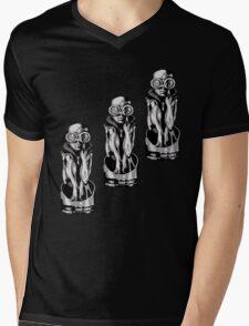Giger's Birth Machine Baby Trio Mens V-Neck T-Shirt